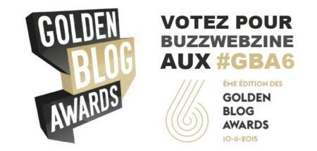 golden blog awards 2015 - gba6 - buzzwebzine