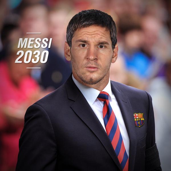 Lionel Messi futur entraîneur du FC Barcelone en 2030