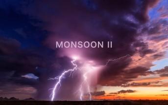 Monsoon : la vidéo fascinante d'un chasseur d'orages