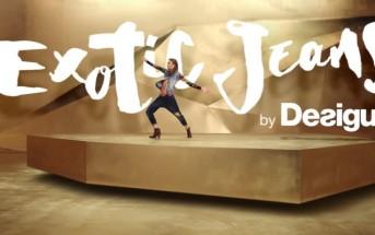 Mannequin et musique de la pub Desigual Exotic Jeans 2015