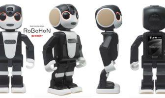 robohon : le robot humanoide smartphone de sharp