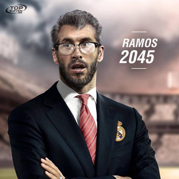 Sergio Ramos futur entraîneur du real Madrid 2045