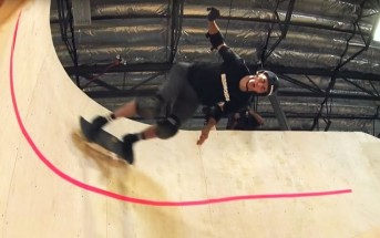 Tony Hawk réalise le 1er looping horizontal en skate