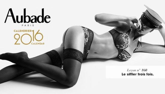 lowest discount official supplier on feet images of Le calendrier Aubade 2016 à télécharger en intégralité