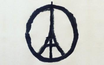 "dessin ""peace for paris"" attentats du 13 novembre"