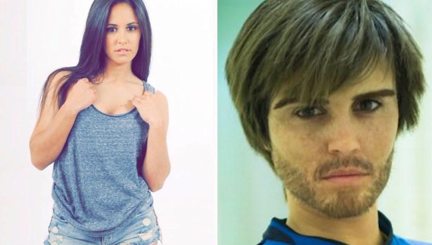 La footballeuse Brenda Pérez se deguise en homme pour une caméra cachée