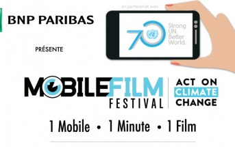 Mobile Film Festival 2015 : Act on Climate Change