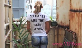 no pants are the best pants : bodypaint sexy à hong-kong