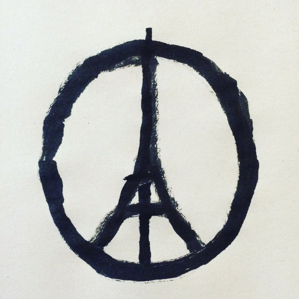 """Peace for Paris"" par Jean Jullien"
