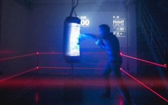 Un punching ball interactif pour combattre le Cancer