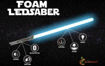 Le sabre laser bluetooth Calimacil Foam LEDsaber