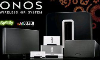sonos : le systeme hi-fi sans fil multiroom