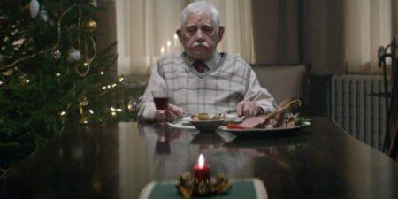 vieil homme seul pour noel