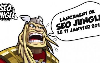 bd seo jungle sur le référencement web - 2016