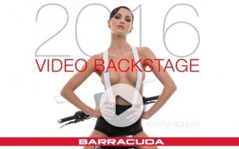 Calendrier Barracuda 2016 : fille sexy sur des motos italiennes