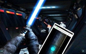 lightsaber escape : le jeu-video star wars qui tranforme votre smartphone en sabre laser