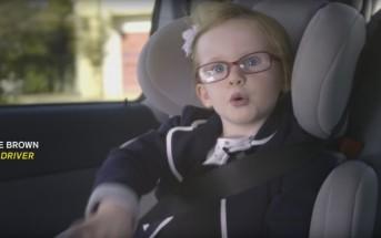 Une fillette de 4 ans conduit un camion de 18 tonnes !