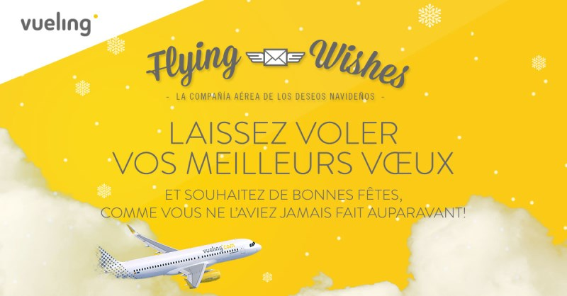 vueling flying wishes