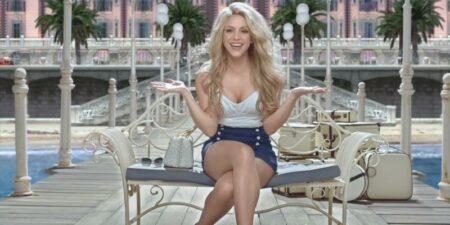 Shakira dans la pub Costa Croisières 2016