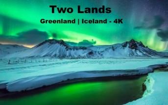 Islande & Groenland : la magie des aurores boréales en 4K