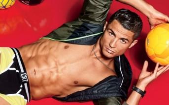 Vidéo : Cristiano Ronaldo fait des jongles en slip CR7 pour QG