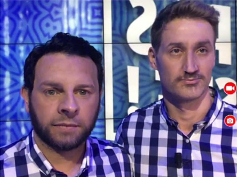 Cyril Hanouna et Mathieu Delormeau mixent leur visage avec L'application face Swap dans TPMP