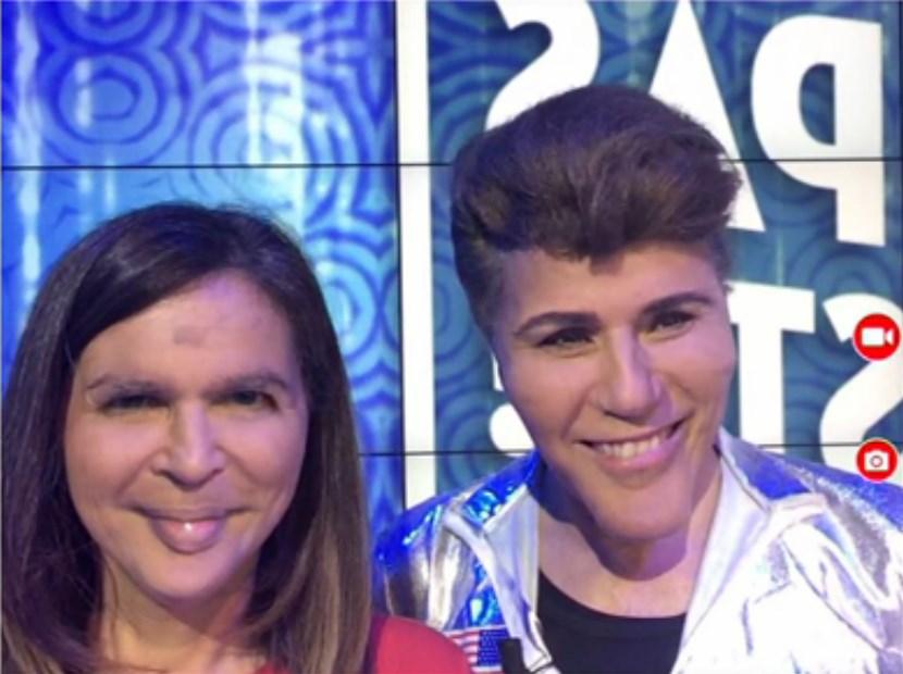 Face Swap TPMP : le mix des visages de Grichka Bogdanov et Valérie Bénaïm