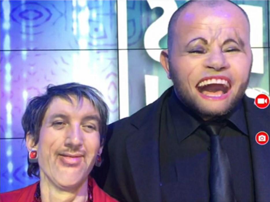 Le meilleur Face Swap de TPMP avec celui de Moktar avec Isabelle Morini-Bosc