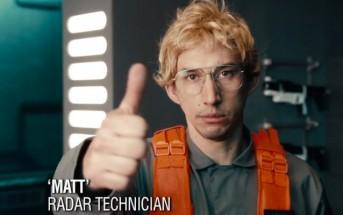 Kylo Ren, le méchant de Star Wars 7 dans patron incognito