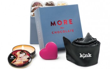 More than chocolate : le coffret sextoy Saint-Valentin 2016 par Amorelie