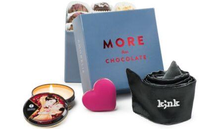 More than chocolate : le coffret sextoy Saint-Valentin 2016 par Amorelie
