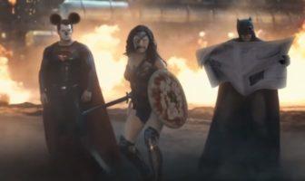 parodie du film batman vs superman