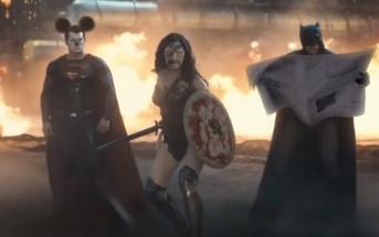Une parodie absurde du trailer du film Batman vs Superman