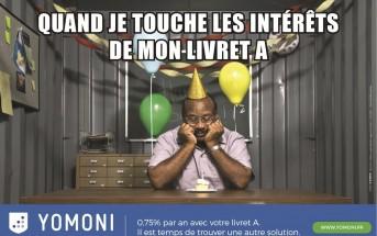L'épargne nouvelle génération Yomoni lance une campagne décalée