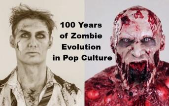 100 ans d'évolution des zombies dans les films en 2 minutes