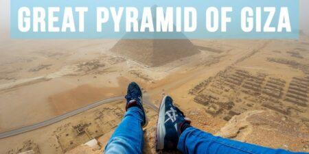 Climbing the Great Pyramid of Giza
