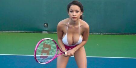 Le tennis version sexy par Elizabeth Anne Pelayo