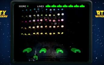 """Ils jouent à """"Space Invaders"""" dans la vraie vie"""