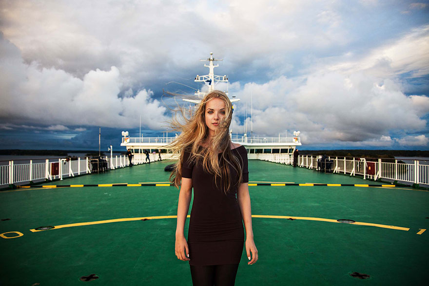 The Atlas of Beauty : femme de la Mer Baltique, Finlande