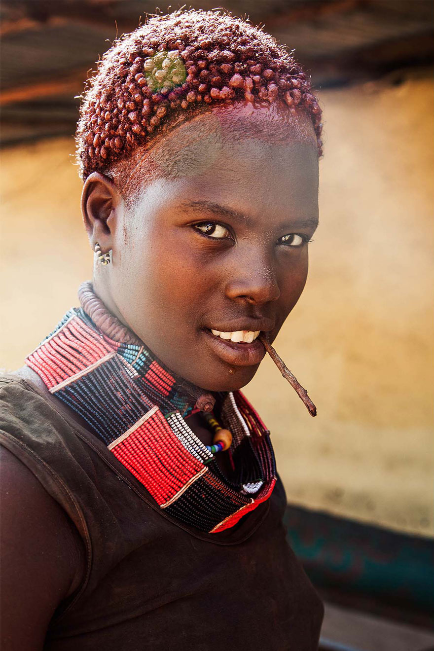 The Atlas of Beauty : femme de la Vallée Omo, Ethiopie