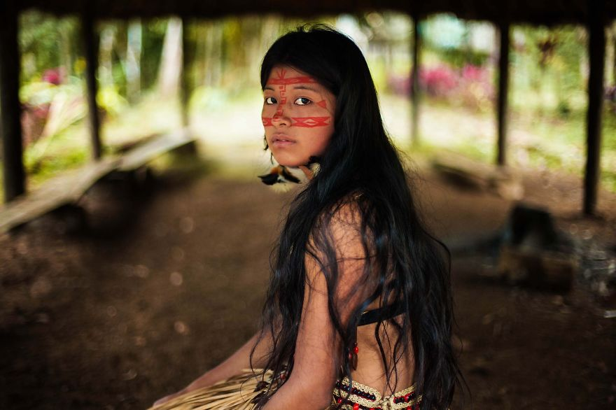 The Atlas of Beauty : femme de la forêt Amazonienne