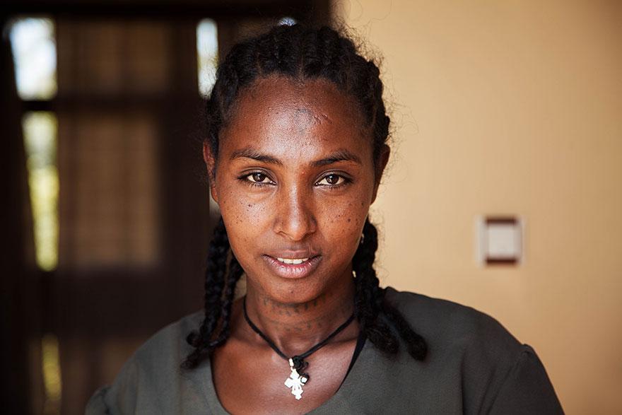 The Atlas of Beauty : femme d'Ethiopie