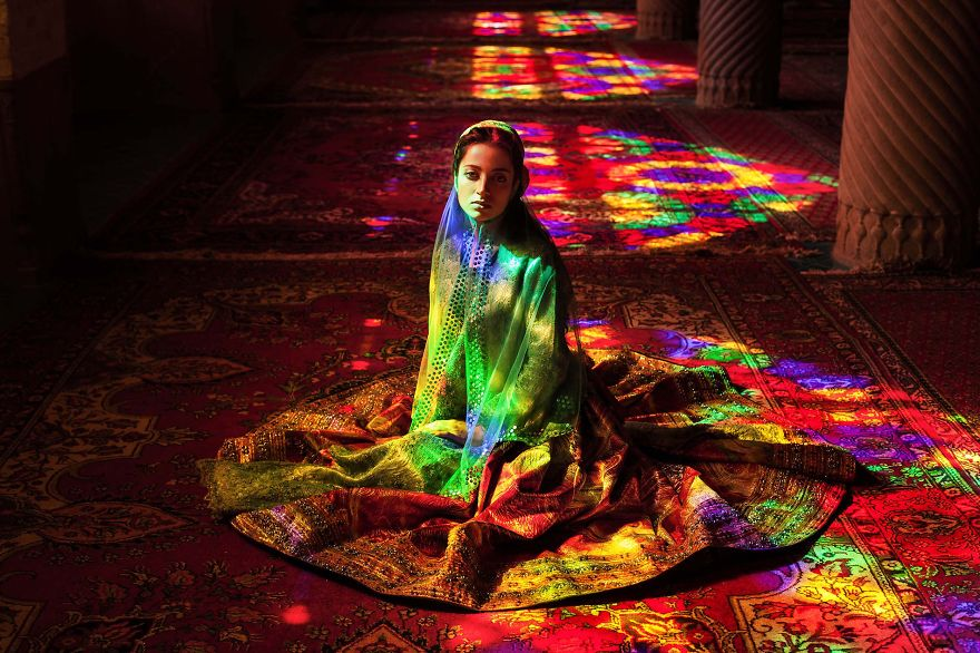 The Atlas of Beauty : femme de Nasir al Mulk, Iran