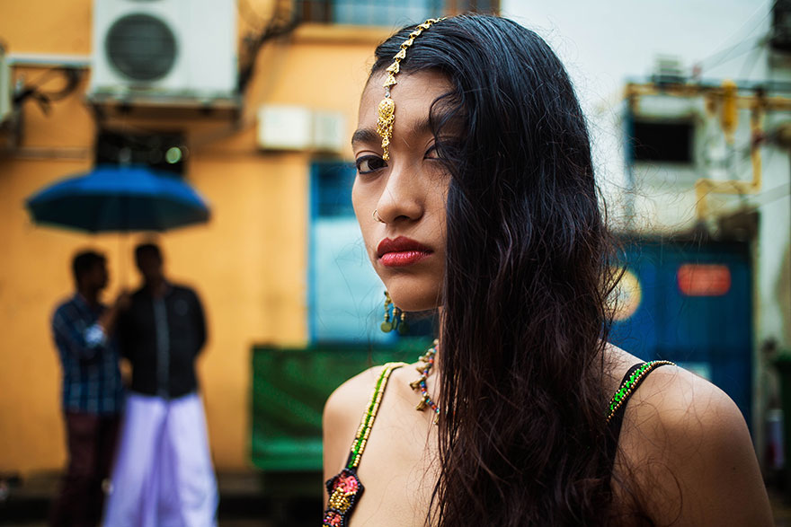 The Atlas of Beauty : femme de Little India, Singapour