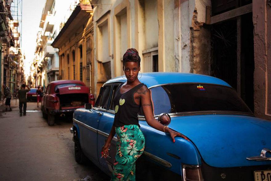 The Atlas of Beauty : femme de La Havane, Cuba