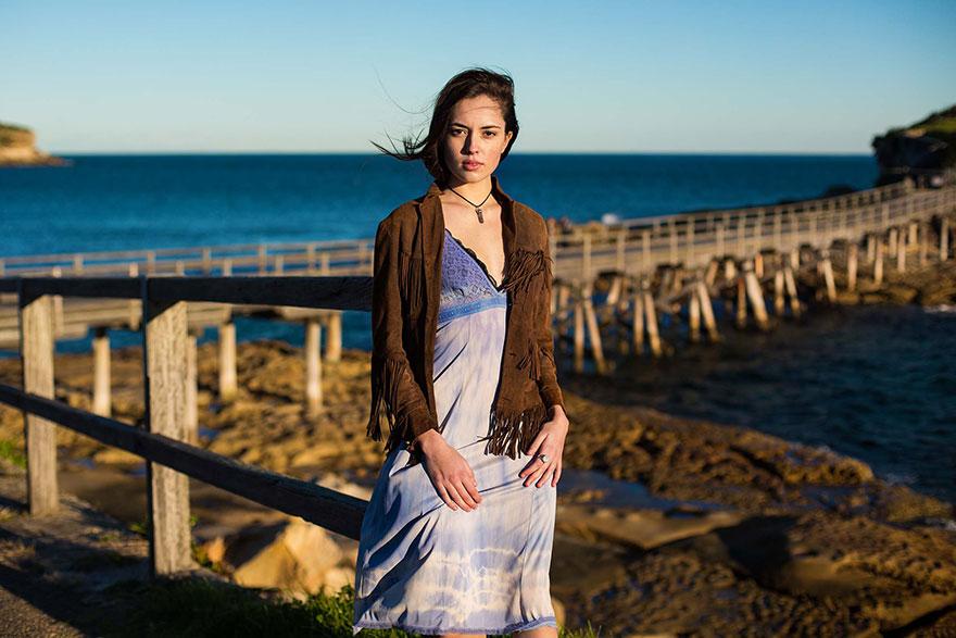The Atlas of Beauty : femme de Sydney, Australie