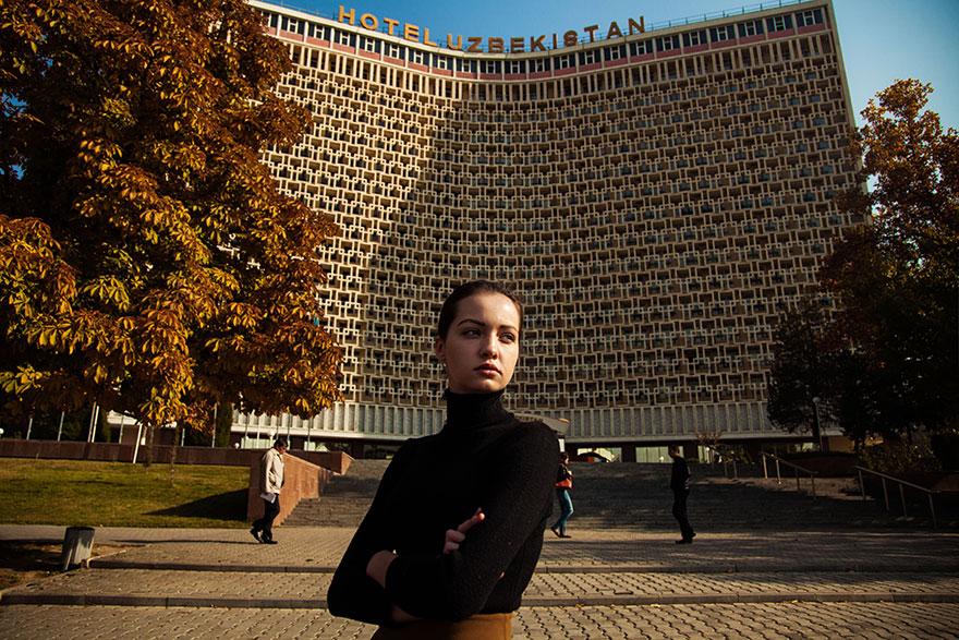 The Atlas of Beauty : femme de Taskent, Uzbekistan