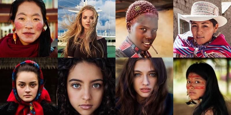 The Atlas of Beauty : portraits des femmes du monde par Mihaela Noroc