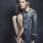 Camille Rowe : levis
