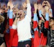 Coldplay, Brunos Mars & Beyoncé lors du Super Bowl 2016